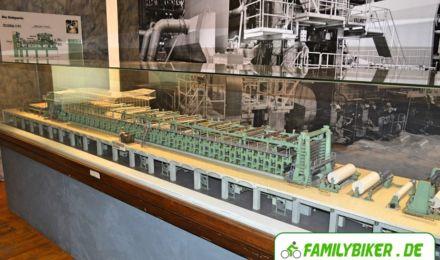 Modell Papierfabrik - Freilichtmuseum Hagen